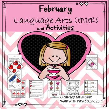 February Language Arts Centers and Activities
