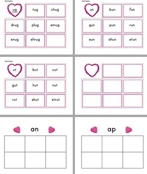 February Language Arts - Creating Centers and File Folder Games