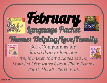 February Language and Book Companion Packet
