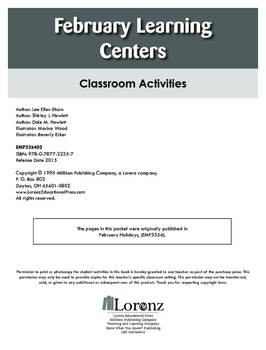 February Learning Centers