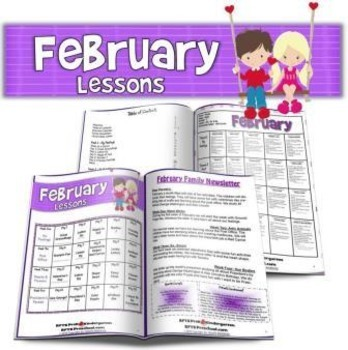 February Lesson Plans Series 2 [Four 5-day Units]