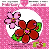 February Lessons Preschool Pre-K Kindergarten Curriculum B
