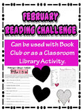 February Library Reading Activity Challenge