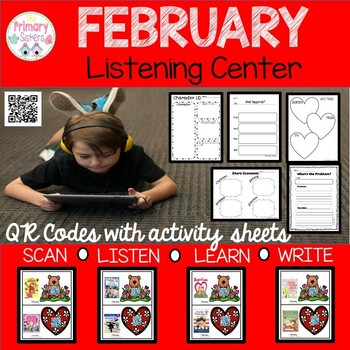February Listening Centers with QR codes