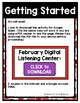 February Listening Center GOOGLE CLASSROOM EDITION