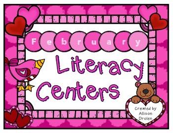 February Literacy Center Kit