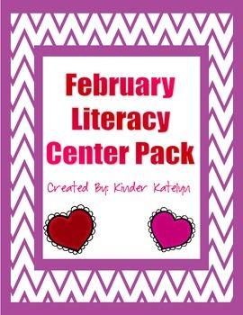 February Literacy Center Pack