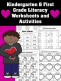 February Literacy Center Worksheets and Activities - Kinde