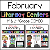 1st and 2nd February Literacy Centers