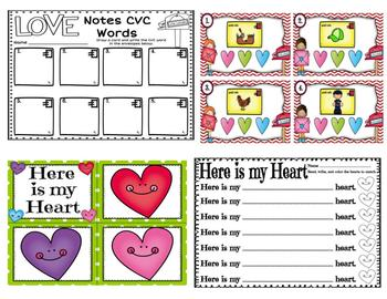 February Literacy Centers (Valentine's Day and Dental Health)