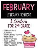 February Literacy Centers - Word Work