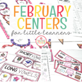 FEBRUARY LITERACY CENTERS AND MATH CENTERS
