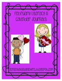 February Literacy Journal and Calender Journal