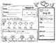 February Daily Literacy & Math Morning Work {Kindergarten