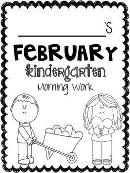 February Literacy Morning Work