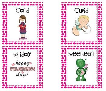 February Literacy Work Stations