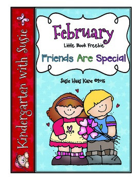February Little Book Freebie