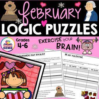 February Logic Puzzles