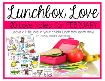 February Lunch Box Love Notes