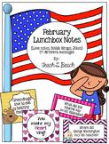 February Lunchbox Notes, Jokes, and Bottle Wraps for Boys & Girls