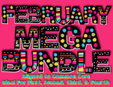 February MEGA Bundle {Common Core} For 1st, 2nd, 3rd, 4th