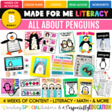 January Made For Me Literacy (Penguins Coming December 15th)