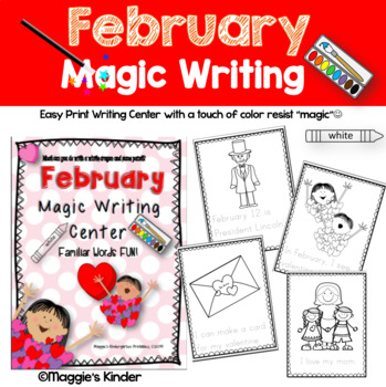 February Magic Writing Center
