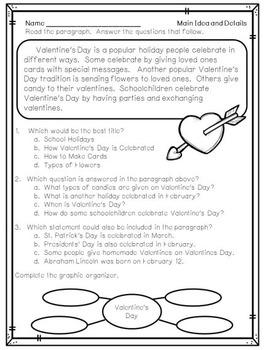 February Main Idea