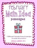February Main Idea Practice