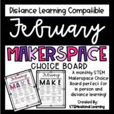 February Makerspace STEM Choice Board