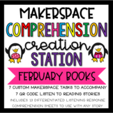 February Makerspace STEM Reading Creation Station DISTANCE