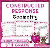 February Math Activities: Geometry Word Problems