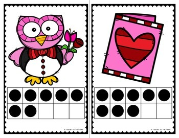 February Math Center: Count the Room 1 - 10