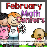 Math Centers: February
