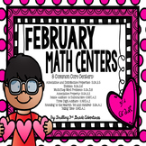 February Math Centers: 3rd Grade
