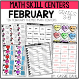 February Math Centers (Grades 3-5)