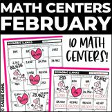 February Math Centers (Grades 3-5)