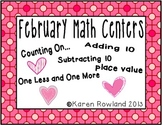 February Math Centers - Number and Operations in Base Ten