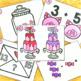 Kindergarten February Math Centers Bundle