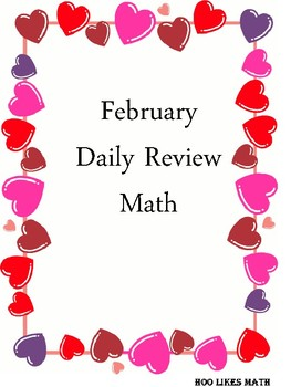 February Math Daily Review