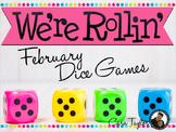 February Math ~ Dice Games