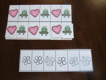 February/Valentine's Day Math Games/Centers-English and Spanish