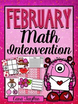 February Math Intervention ~ RTI Groups