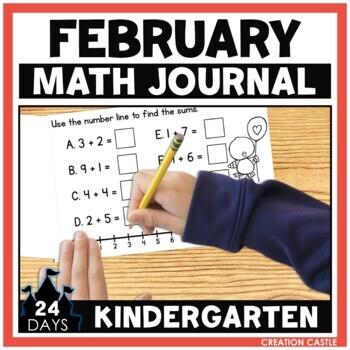 February Math Journal - Kindergarten