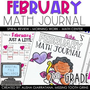 Math Journal February (2nd Grade)