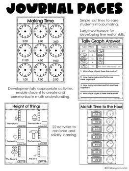 First Grade Math Journal Volume 6