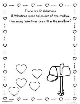 Kindergarten - Special Education - February Math Journal - NO PREP