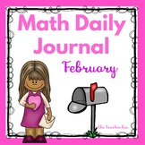 Kindergarten - Special Education - Math  Daily Journal - February