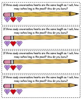 February Math Journal Prompts