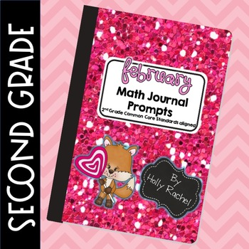 February Math Journal Prompts Second Grade